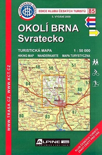 KČT 85 okolí Brna Svratecko