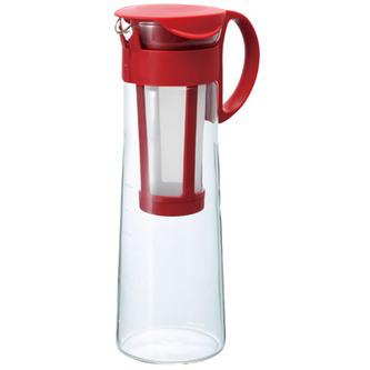 Konvice pro přípravu ledové kávy Hario Mizudashi (MCPN-14R) - 1000 ml, červená