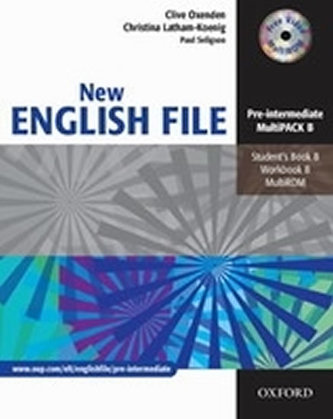 New English File Pre-intermediate Multipack B - Oxenden Clive, Latham-Koenig Christina,