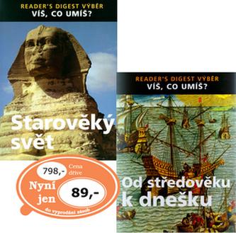 Balíček 2ks Od středověku k dnešku + Starověký svět