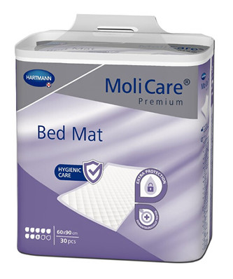MoliCare Podložky Bed Mat 8 kapek 60 x 90 30 ks