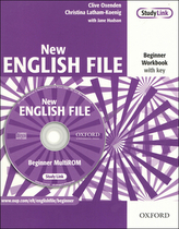 New English File Beginner Workbook with key + CD-ROM