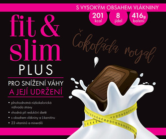 Fit & Slim Fit & Slim PLUS - Čokoláda Royal