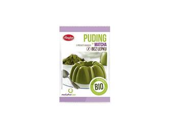 Matcha tea Bio Puding matcha ananasový, bez lepku 40g