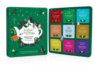 English Tea Shop Vánoční prémiová kolekce zelená Bio 72 Ks