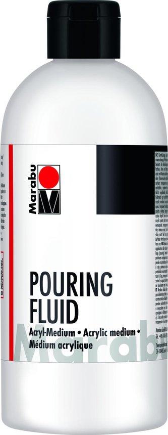Marabu pouringové médium pro akrylové barvy 750 ml