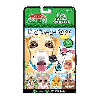 Vytvoř obličej - Domácí mazlíčci