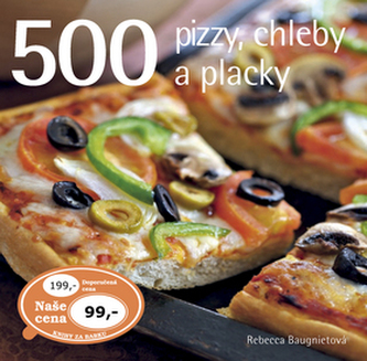 500 pizzy, chleby a placky