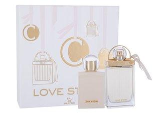 Chloé Love Story parfémovaná voda 75 ml + tělové mléko 100 ml