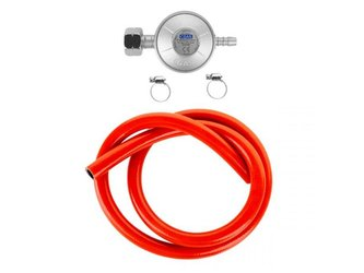 Regulátor tlaku plynu TEESA (redukce + hadice + pásy)