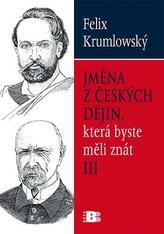 Jména z českých dějin III.