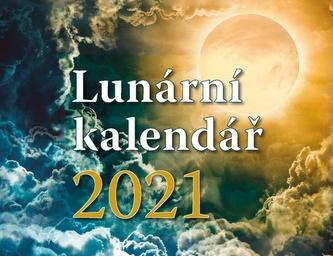 Lunární kalendář - stolní kalendář 2021 - Lucia Jesenská