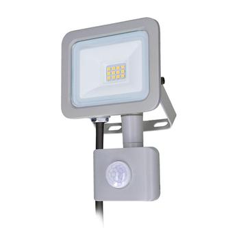 LED reflektor SOLIGHT WM-10WS-M 10W PIR
