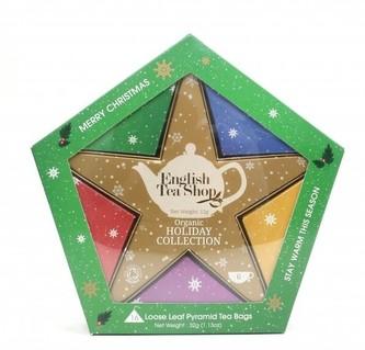 English Tea Shop Dárková kolekce se Zlatou hvězdou 16 čajových sáčků