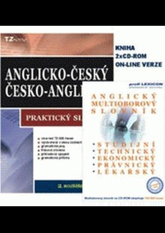 Balíček 2ks Anglický  multioborový slovník