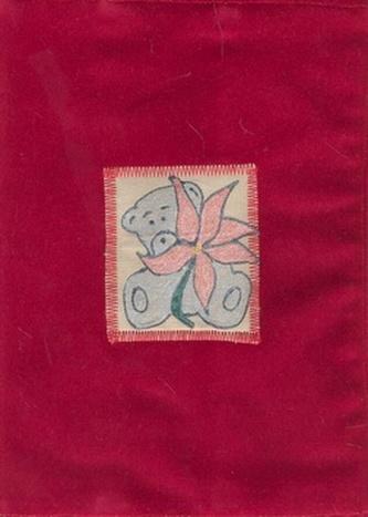 Obal na knihu - červený