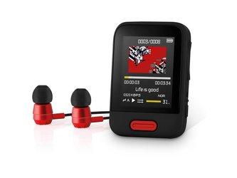 Přehrávač MP3/MP4 SENCOR SFP 7716 BK 16GB