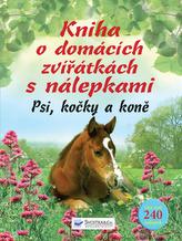 Kniha o domácích zvířátkách s nálepkami