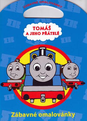 Tomáš a jeho přátelé Zábavné omalovánky
