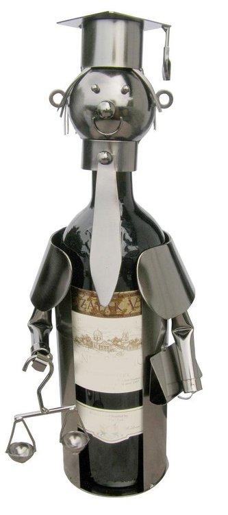 Kovový stojan na víno / Justice