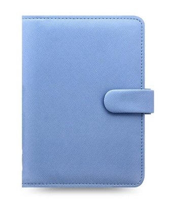 Filofax Saffiano diář osobní - modrý