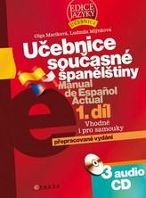 Učebnice současné španělštiny 1.díl + 3CD