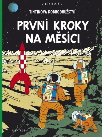 Tintinova dobrodružství První kroky na Měsíci
