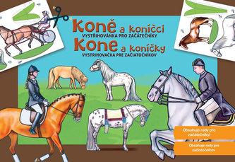 Koně a koníčci Vystřihovánka pro začátečníky
