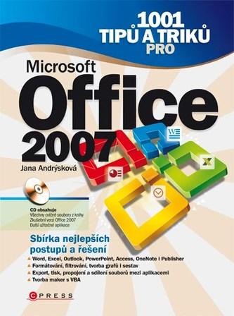 1001 tipů a triků pro Microsoft Office 2007 - Jana Dannhoferová