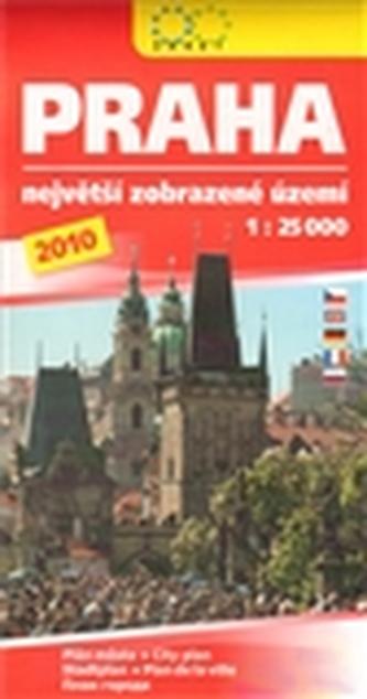 Praha 2009 Největší zobrazované území