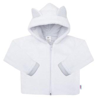 Luxusní dětský zimní kabátek s kapucí New Baby Snowy collection - velikost 56 (0-3m)
