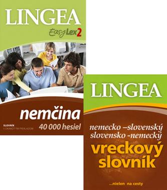 Komplet 2 ks EasyLex Nemčina + Nemecko-slovenský slovensko-nemecký slovník
