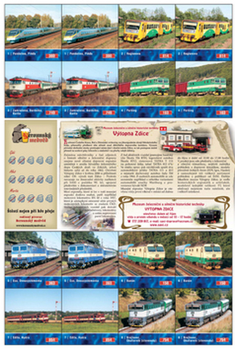 Pexeso Současné lokomotivy I.