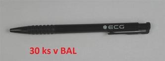 ECG propisovací tužka černá 30 ks/bal