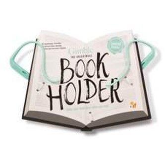 Cestovní držák na knihu - zelený
