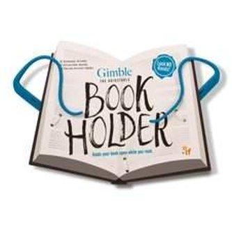 Cestovní držák na knihu - modrý