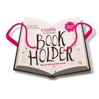 Cestovní držák na knihu - růžový