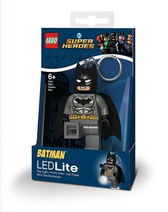 LEGO DC Super Heroes Grey Batman svítící figurka