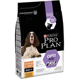 Pur.PP Dog OptiAge Adult 7+ 3kg