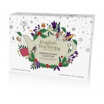 English Tea Shop Papírová bílá vánoční kolekce bio čajů 72 g, 48 ks bio ETS48 58366