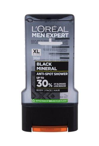 L´Oréal Paris Men Expert Sprchový gel Black Mineral 300 ml Anti-Spot pro muže