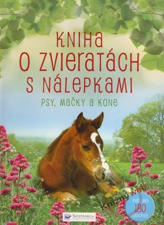 Kniha o zvieratách s nálepkami