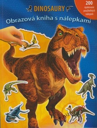 Dinosaury - Obrazová kniha s nálepkami
