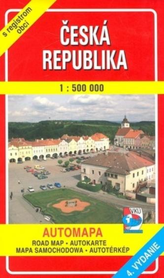 Česká republika 1 : 500 000