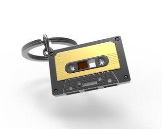 Metalmorphose Klíčenka - Kazeta audio vintage