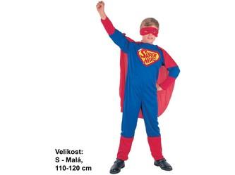 Kostým na karneval Super hrdina, 110-120cm