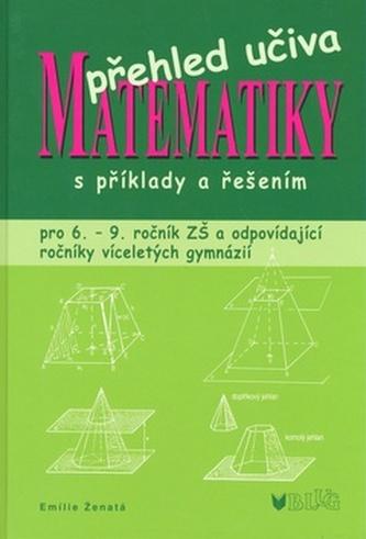 Přehled učiva matematiky s příkady a řešením