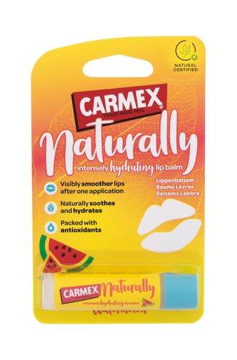 Carmex Naturally Balzám na rty 4,25 g Watermelon pro ženy