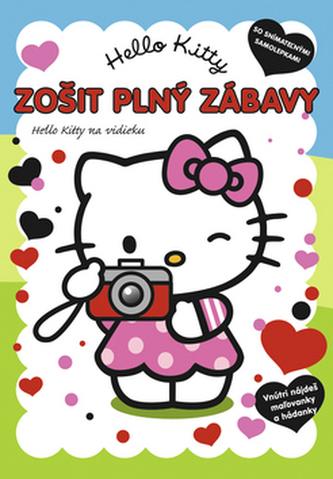 Hello Kitty Zošit plný zábavy