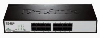 D-Link DES-1016D 16-port 10/100 Desktop / Rackmount Switch